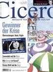Angenehm unaufgeregte Berichte über die Wirtschaftskrise in der April-Ausgabe der Zeitschrift Cicero