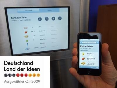 Vom intelligenten Kühlschrank zum Supermarkt der Zukunft