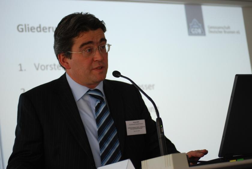 Markus Wolff, Vorstand Genossenschaft Deutscher Brunnen