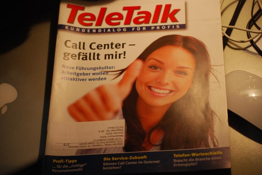 Die heile Welt der Call Center-Branche