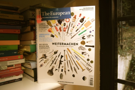 Debattenmagazin The European in gedruckter Form