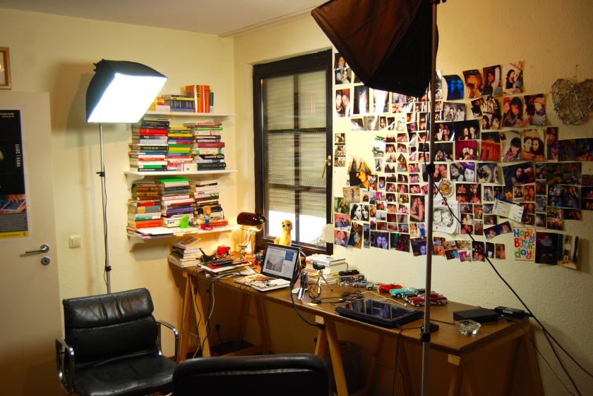 Hangout On Air-Fernsehstudio