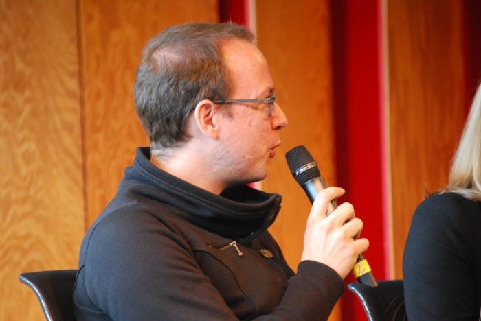 Markus Beckedahl beim Social Community Day in Köln
