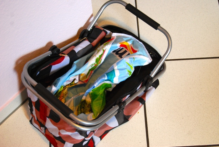 Einkaufskorb statt Plastiktüte