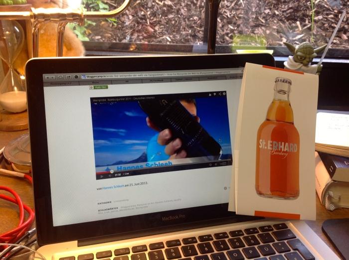 Wein und Bier im Bloggercamp!
