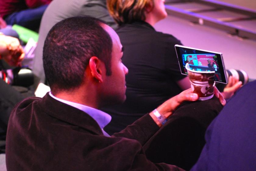Stativ-Innovation für Tablets