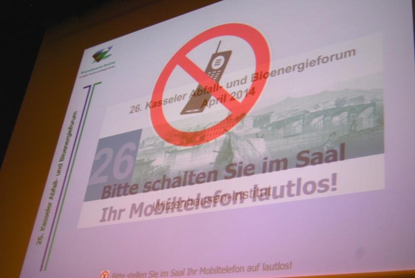 Neulich beim Abfallforum in Kassel