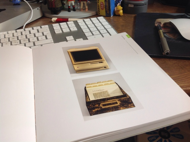 Zettelkasten und Apple Macintosh  von Friedrich Christian Delius