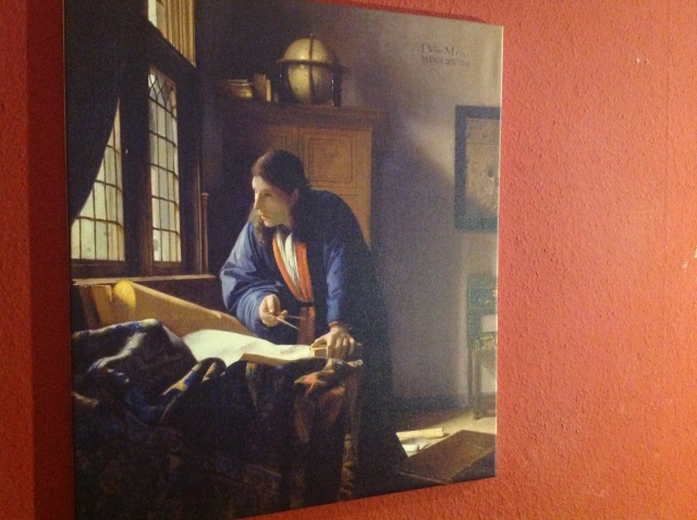 Vermeer: Der Geograph