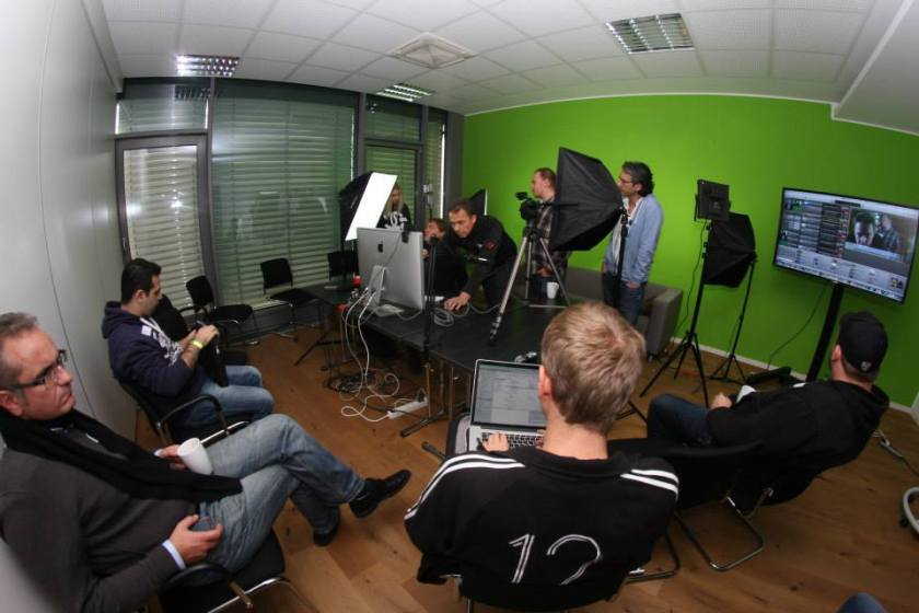 Jedermann-TV beim StreamCamp in Köln