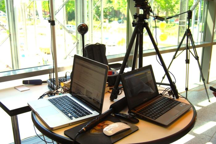 Kompaktes Live-Programm mit wenig Technik