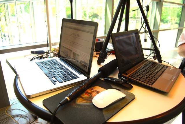 Social-TV-Studio beim #GLS40 Kongress in Bochum