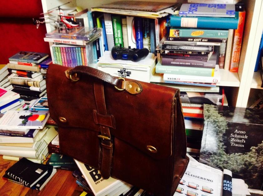 Bei mir reicht es nur zur Büchertasche
