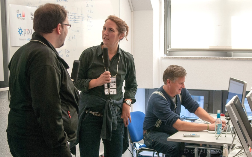 SocialTVShow: Livestreaming-Session auf dem Kölner Startcamp