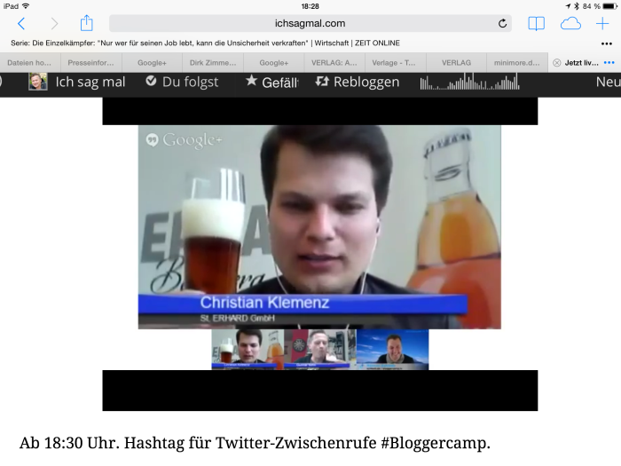 St. Erhard bei Bloggercamp.tv