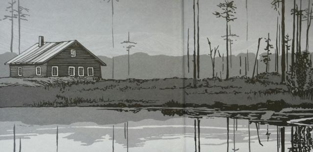 Ausschnitt aus einer Illustration von Kat Menschik aus dem besprochenen Band