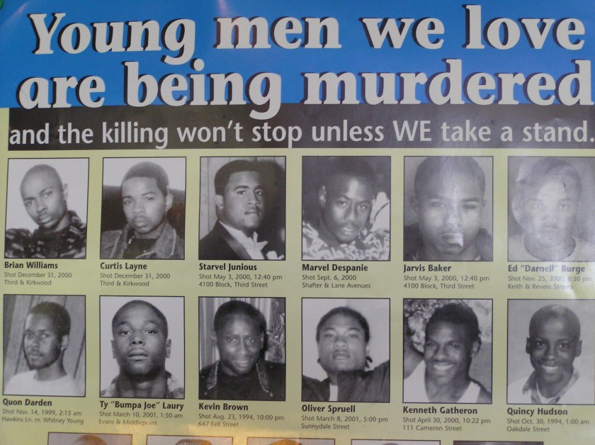 Erschossene Ghetto Kids