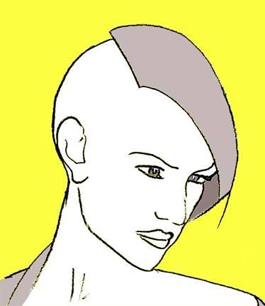 Occasio, Göttin der Gelegenheit. Logo-Entwurf von Jürgen Stäudtner
