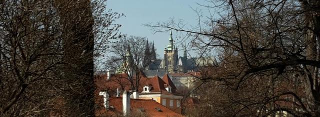 Blick von der Insel Kampa aus auf die Prager Burg © Wolfgang Schiffer