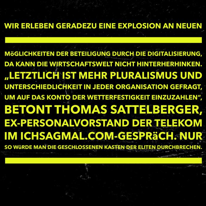 Sattelberger Demokratisierung