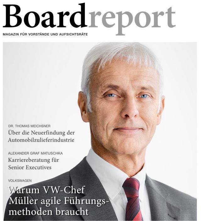 Boardreport-Titelthema