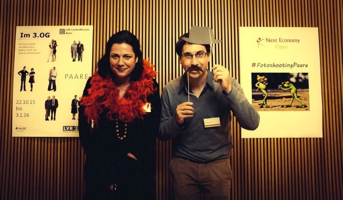 Solopreneure auf der Next Economy Open in Bonn: Miliana Romic und Benjamin O'Daniel