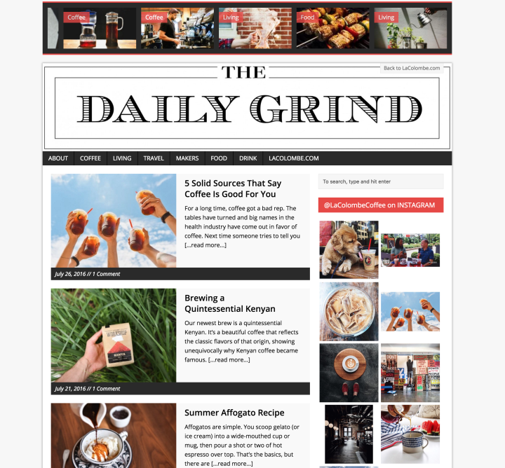 Daily Grind Blog