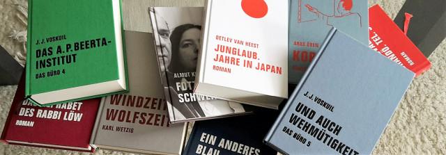 Einige Titel des Verbrecher Verlags