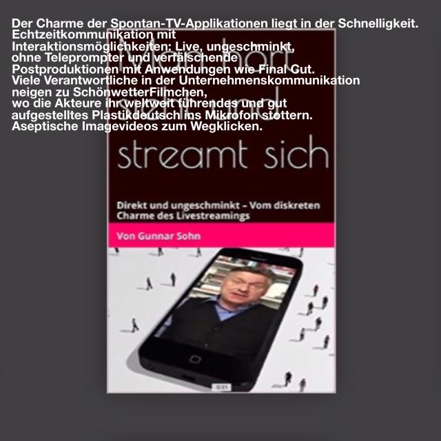 Livestreaming Buch