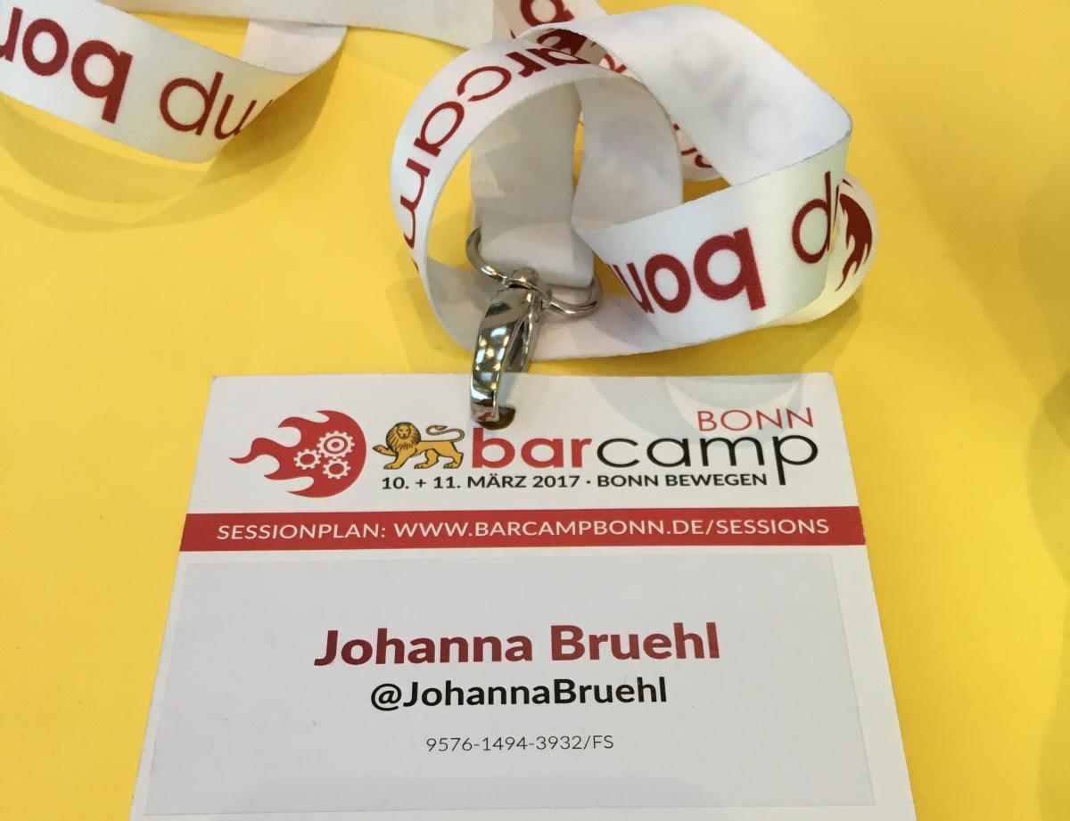 Vielfalt auf dem BarcampBonn